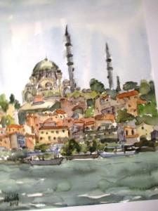 Ansicht von Istanbul
