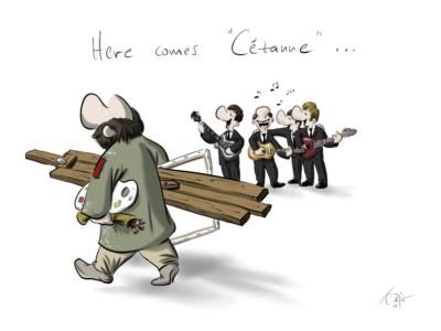 Here comes Cézanne
