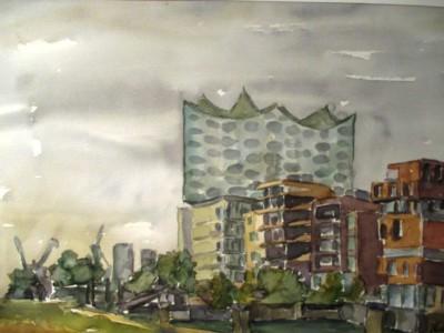 HafenCity mit Elbphilharmonie