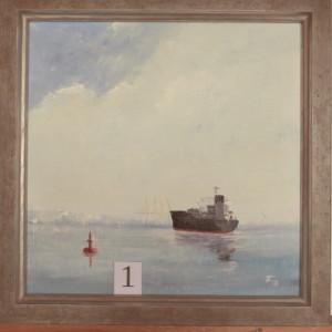 Schiff vor Teufelsbrück