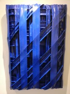 Architektur Blau