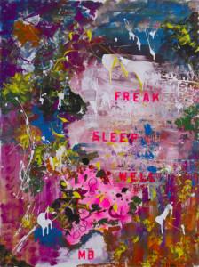Freak sleep well
